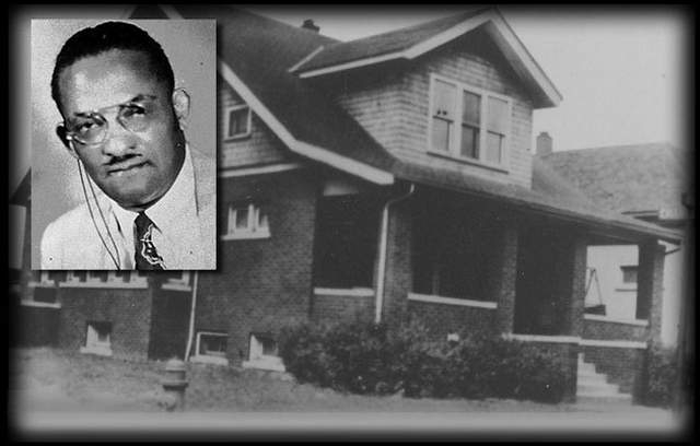 Dr. Ossian Sweet & his East Side Garland home