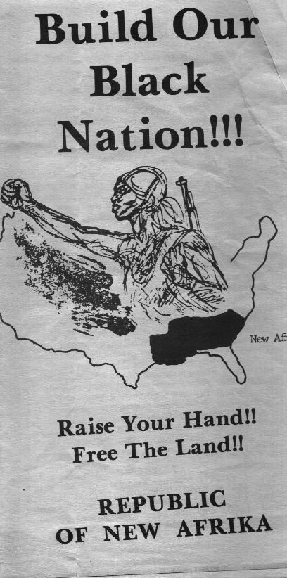 A handbill for the RNA